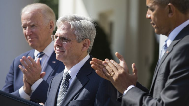 Federal appeals court judge Merrick Garland
