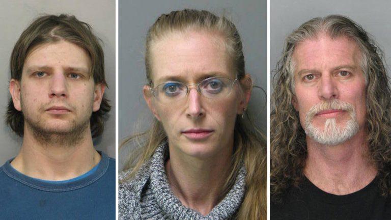27 year-old Adam J. Prettyman,37 year-old Erica A. Wildes, and 52 year-old John E. Jones III of Millsboro accused of running a Meth Lab.