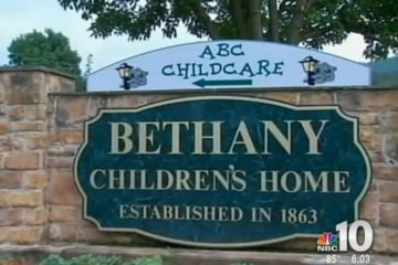 This image from NBC10 video shows Bethany Children's home in Womelsdorf, Pa., one of four shelters where unaccompanied Central American children are being housed. (NBC10 video)