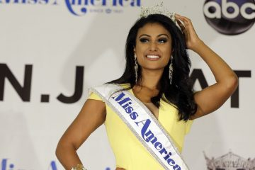 Nina Davuluri, Miss America 2014, is winding up her year of service. A new Miss A will be crowned on Sept. 14. (Mel Evans/AP Photo)