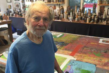 Artist Mitch Lyons (Brian Drouin/NewsWorks0