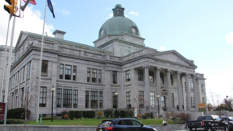 Montgomery County Courthouse will get an addition as a part of Montgomery County's ambitious plan to spruce up Norristown. (Emma Lee/WHYY)