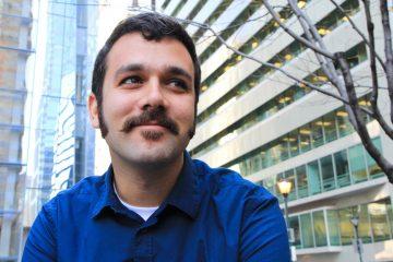 Robert Cucugliello is growing a mustache for