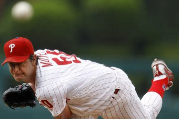 Former Philadelphia Phillies' pitcher Jamie Moyer throws against the Cleveland Indians. (AP file Photo/Matt Slocum)