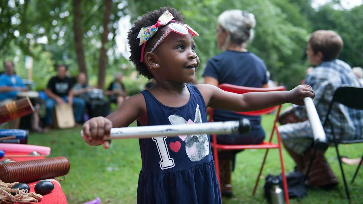 As part of the Park Before Dark series, lots of events will be offered at Mt. Airy's Lovett Park. (Tracie Van Auken/for NewsWorks)