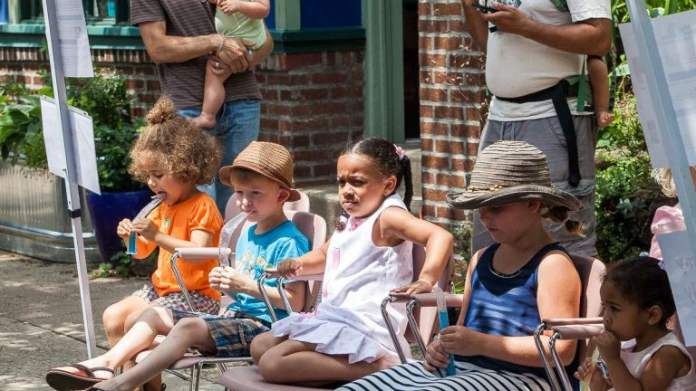 Head to the Big Blue Marble Bookstore for the  2015 Mt. Airy Kids' Literary Festival. (Brad Larrison/for NewsWorks, file)