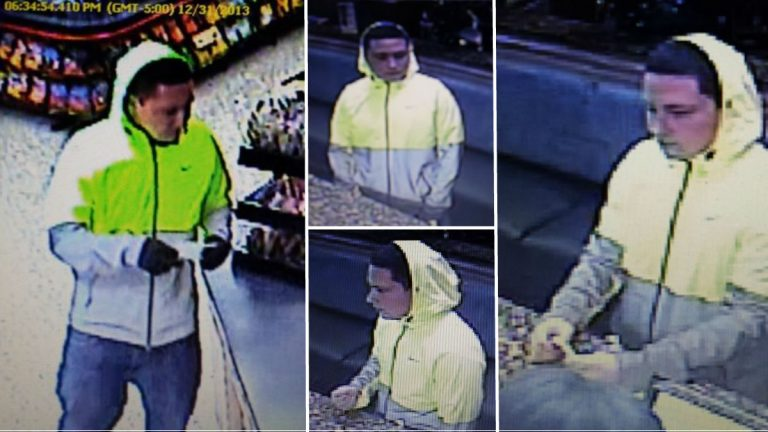 (Surveillance photos courtesy Newark Police)