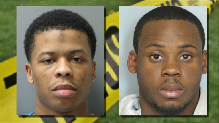 Troy Faison and Sirair Bailey are both convicted felons with previous weapons offenses (WPD photos)