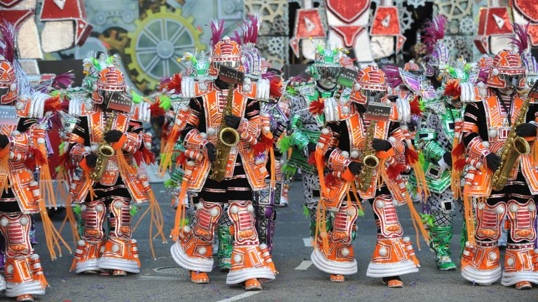 The Mummers are back to ring in the year 2016 with some new additions including the Philadelphia Division.