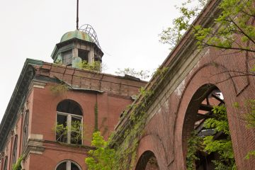 Plans have been set in motion to redevelop this former  Pennsylvania brewery.  Can you identify the city and landmark?  (Lindsay Lazarski/WHYY)
