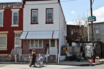 The 2900 block of Hope Street in North Philadelphia (WHYY, file)