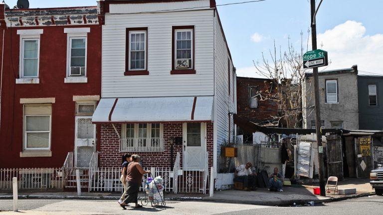 The 2900 block of Hope Street in North Philadelphia (WHYY, file)