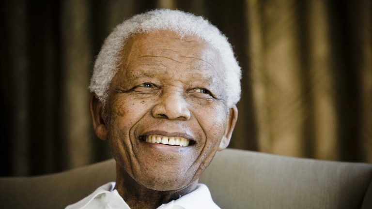 Former South African President Nelson Mandela is shown in Johannesburg, South Africa, in 2009. (AP Photo/Pool-Theana Calitz-Bilt, Pool)