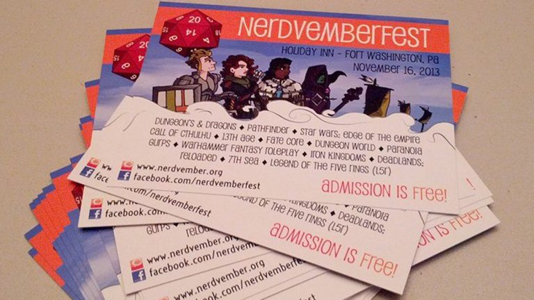 The first Nerdvemberfest will take place at the Fort Washington Holiday Inn on Nov. 16, 2013. (Image courtesy of Matthew Aaron)