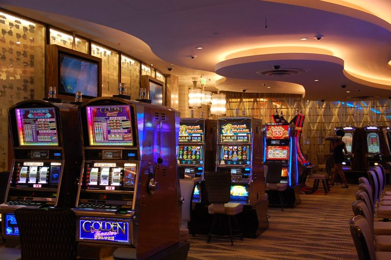 Approximately 300  slot machines were added during the SugarHouse  expansion. (Tom MacDonald/WHYY)