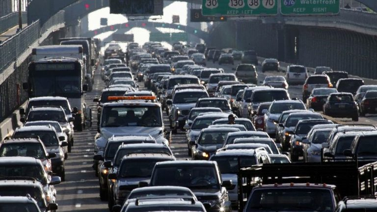 Traffic in Philadelphia. (AP Photo, file)