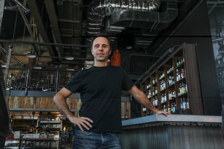 Nick Stuccio, producing director of the Fringe Arts Festival, talked to Jennifer Lynn about the 19th annual event that will feature talent from across the globe. (Credit: Kimberly Paynter/WHYY)