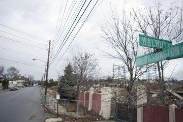 A street corner in Scranton