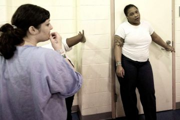 A new program at Riverside Correctional Facility in Philadelphia will help inmates fill out a Medicaid application before they leave. (Bastiaan Slabbers/for NewsWorks)