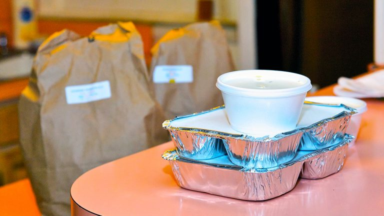 A day's worth of food for a senior receiving Meals on Wheels. Senior services, including Meals on Wheels, are no longer receiving government funds in Montgomery County, due to a prolonged state budget impasse. (Bas Slabbers/for NewsWorks)