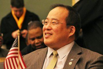 Philadelphia City Council member David Oh.(Emma Lee/for NewsWorks)