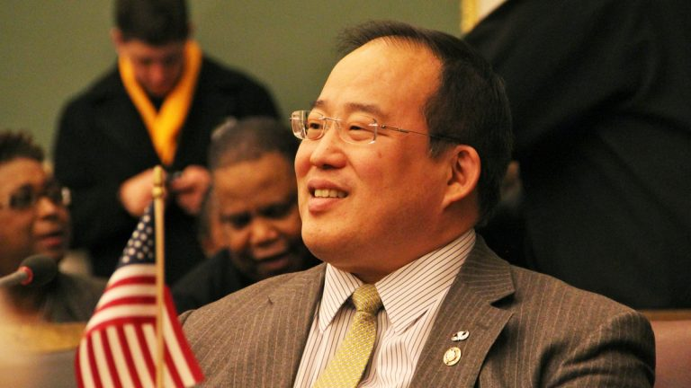 Philadelphia City Council member David Oh.(Emma Lee/for NewsWorks)