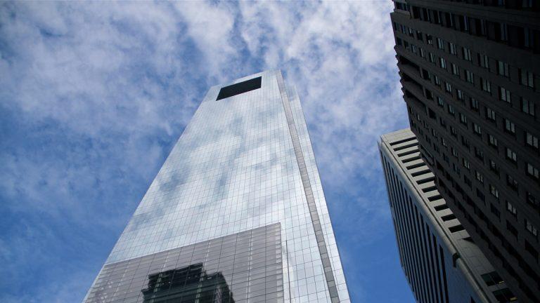 Philadelphia's Comcast Tower (Emma Lee/WHYY)