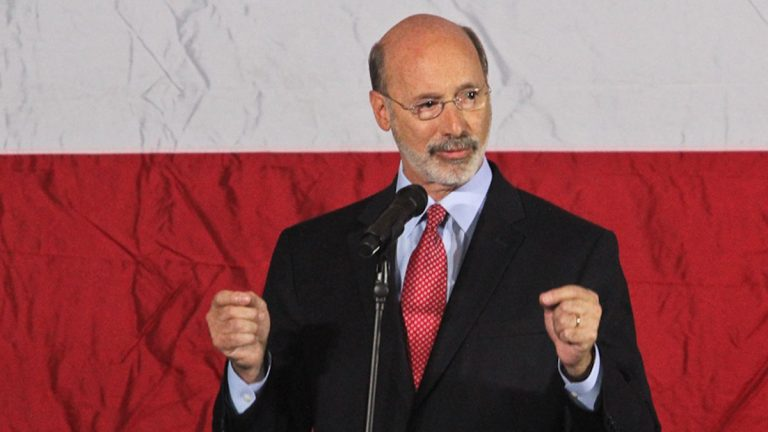 Pennsylvania governor-elect Tom Wolf (Kimberly Paynter/WHYY)