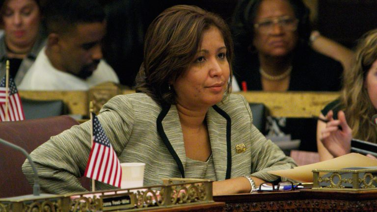 Philadelphia Councilwoman Maria Quinones-Sanchez (Nathaniel Hamilton/NewsWorks Photo, file)