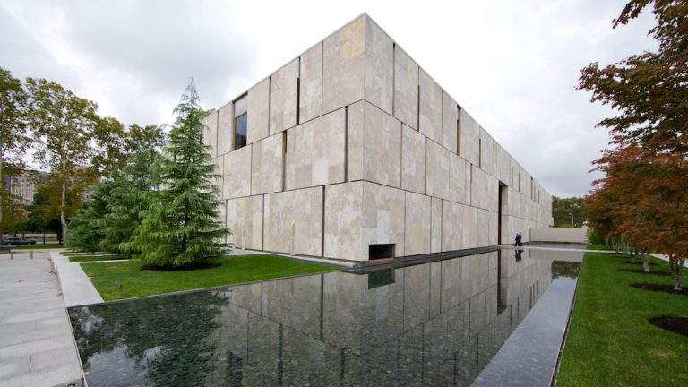 The Barnes Foundation received the highest level of environmental friendly LEEDS award in 2012. To reduce the water consumption