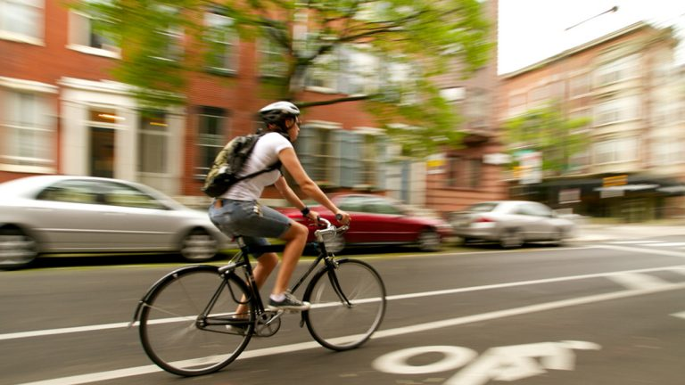 Montgomery County plans to add 800 miles of bike paths to its on-road bicycle system. (Nathaniel Hamilton for WHYY News, file)