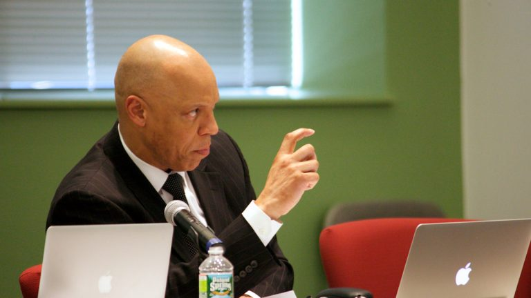 William R. Hite, Jr., Ed.D, Superintendent of The School District of Philadelphia (Nathaniel Hamilton/for WHYY)