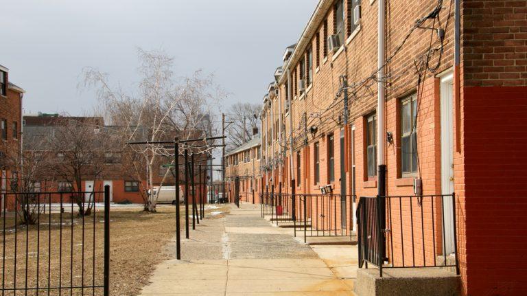 Philadelphia Housing Authority buildings (Nathaniel Hamilton/for NewsWorks)