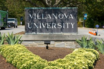 Villanova University in Delaware County will arm some of its security police force next year. (Nathaniel Hamilton/WHYY)