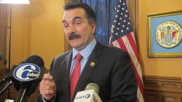 Assembly Speaker Vinnie Prieto says a bill to take over Atlantic City is not needed. (Phil Gregory/WHYY)