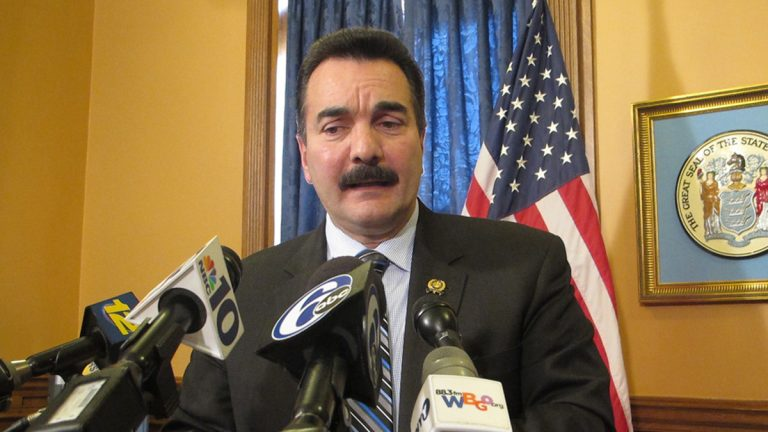 Assembly Speaker Vinnie Prieto says it's embarrassing that nearly 3 million New Jersey residents are living in poverty.(Phil Gregory/WHYY)
