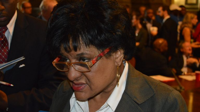 Philadelphia City Councilwoman Jannie Blackwell. (Tom MacDonald/WHYY)