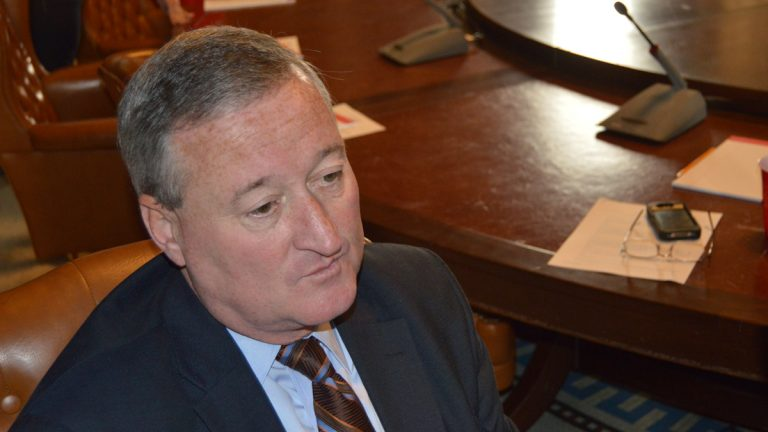 Councilman Jim Kenney authored the bill which would punish getting caught with less than an ounce of pot with a 25 dollar fine (Tom MacDonald/WHYY)