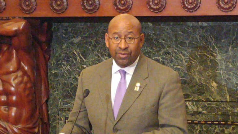 Mayor Michael Nutter (Tom MadDonald/WHYY)