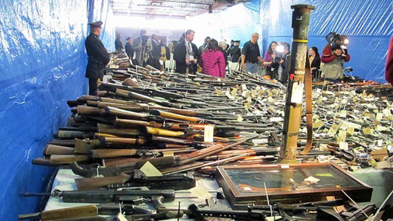 A gun buyback program in Trenton