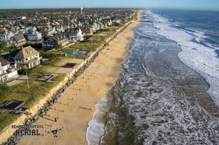 Bay Head after the early Oct. 2015 coastal storm. (Photo: RCAP/Remote Control Aerial Photography and Ocean Aerial Photo)