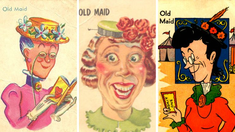 The 'old maid' may be the ugliest card in the deck, but don't doubt for  second that she's got secrets.