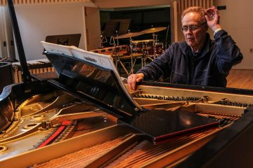 James Freeman will play his last concert as Artistic Director of Orchestra 2001 on Friday. (Kimberly Paynter/WHYY)