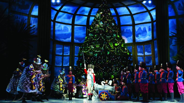 Catch the Pennsylvania Ballet's annual holiday spectacular,