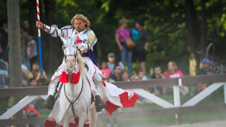 For the 35th season, the Pennsylvania Renaissance Faire storms the grounds of the Mount Hope Estate and Winery this weekend and continues on Saturdays & Sundays (including Labor Day Monday) through October 25. Photo courtesy of the Pennsylvania Renaissance Faire.