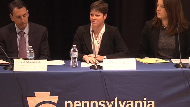 Pennsylvania insurance commissioner Teresa Miller conducted a hearing in October about surprise medical billing. Her agency is released a proposal to address the practice.