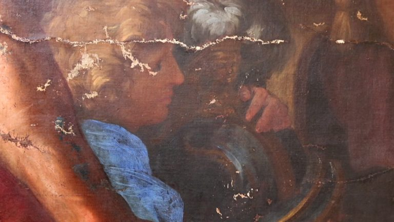 Detail from Pietro da Cortona's 17th century painting
