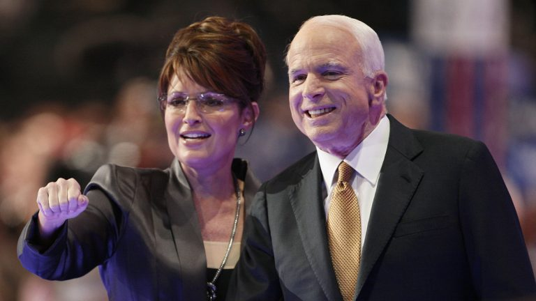 2008 Republican vice presidential nominee Sarah Palin was associated with Heart's 'Barracuda