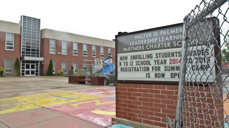 Walter D. Palmer Leadership Learning Partners Charter School. (Kimberly Paynter/WHYY)