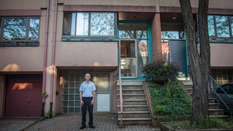Mark Zajak and his family are offering his house in the Art Museum area for $16,000 for the week of the World Meeting of Families and Pope Francis' visit in September. (Emily Cohen/for NewsWorks)